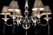 Light Up, Light Up. / If you are feeling a little gloomy, illuminate your home with some elegant lighting.