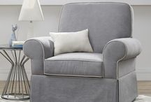 Gliders, Chairs for Rocking Baby in your new Nursery