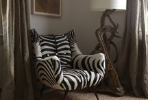 African inspired living spaces