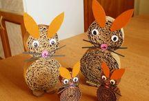 Jarní a velikonoční tvoření s dětmi