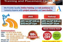 Get 15% OFF!!! Attend JAVA & HADOOP online FREE DEMO