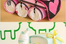 Darčeky na oslavu pre bábätká