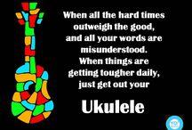 Pick your ukulele up & play!
