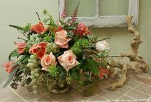 Wedding Centerpieces by Apple Blossoms Floral Designs