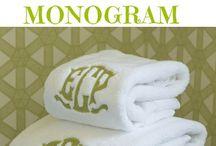 Monograming