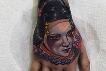 hand tatoos