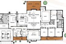 Farmhouse Rural Floor Plans