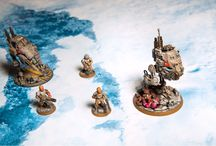 Photos from our battle boards / It is about miniatures on battle boards for table games. Wargaming terrain and etc.
