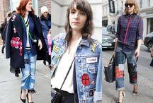 Denim Report (A DIY Story) / Patchwork Denim Fashion