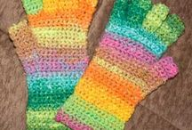 crochet & knitting - gloves, scarves & cowls / by Beverley Gillanders