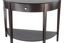 Consoles, Curios, Tables / Curios, tables consoles / by Modern Age Designs, LLC