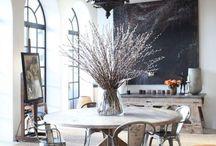EETKAMER ✖ / Ideeën voor een sfeervolle en mooie eetkamer, vind je hier!   makeover.nl/inspiratie/inrichting/eetkamer