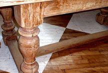 Hus - Spisestue / Bord, stola, dekor