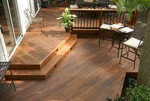 Deck and patio / by Liz Shann