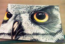 Kresby , malby / Umění