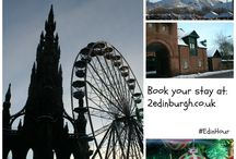 Edinburgh All Year Round / Ideas for visiting Edinburgh during every season - there's always something happening.  Created for #EdinHour Twitter chat.
