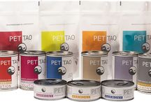 Our Products / We have 3 feline canned diets, 6 canine canned diets, and 6 freeze-dried treats.