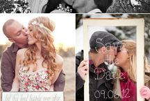 Save The Dates / Fun ideas of how to tell the ones you love, to save the date for your wedding.