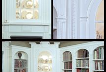 Charleston Library / This reproduction library involved rescaling the cabinetry to the layout for a space in a new home, while keeping true to the details of the original room, in Charleston, South Carolina.  Here's a library with cabinetry that tells as interesting a story as the books upon it's shelves.  Such projects demand the most of our years of experience designing and crafting the finest custom cabinetry and interiors.