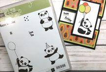 Stampin Up Party Pandas