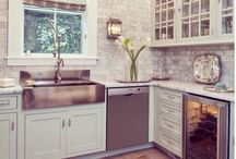 kitchen reno ideas / by Melissa Walters