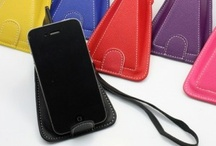 Iphone 4 4s Leather  Cover Case / by Edealbest.com