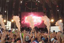 Festivaleando / Pines de los mejores festivales de música electrónica. Mas información en www.extremaduraeselectronica.es