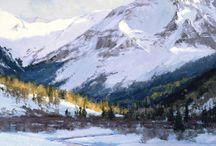 Skip Whitcomb, cuadros al oleo / Cuadros al oleo del artista norteamericano Skip Whitcomb