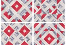 Jelly Roll Quilts and Blocks