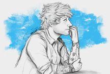 Ed Sheeran drawing