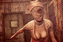 Silent Hill Nurse / From the Silent Hill video games and movies.