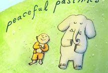 Peaceful Buddha thoughts