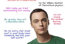 Sheldon Cooper - The Big Bang Theory / by autumn grace