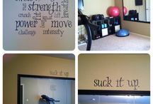 For the Home-Workout Space / by Lindsey Wolosek