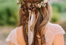 My engagement hairstyle