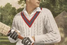 Cricket sweaters / If I ever get around to making one.......
