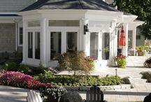 Backyard Getaway / Deck, porch, pool, garden, fire pit, gardening, tree houses, sheds,