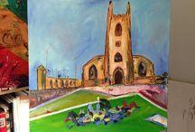 Artist in Residence St John's / Peterborough 2013/14