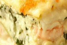 seafoof lasagne