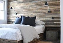 houtenwand