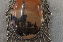 Vintage Jewelry Antique Fur Clips / by Vintage House Boutique