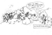 LBBZ Plantahof - Karikaturen / Werbung für einzelne Kurse