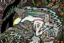 Schmerzen & Kunst / Migraine aura art