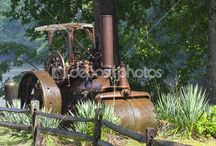 Spain/Portugal plinthed Apisonadoras/ Steam Rollers