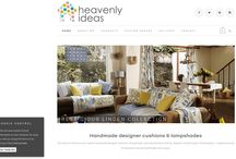 Desborough Web Design | Heavenly Ideas / Heavenly Ideas needed a #wordpress #eCommerce #website so they could process there own sales as well as selling on eBay. We created a professional and sleek design for heavenly Ideas. Heavenly Ideas home ware designs are bright and beautiful. With basic SEO, mobile responsive design and her products set up, they now has a professional platform to continue selling from there own domain. Visit there website here: http://www.heavenlyideas.co.uk/ http://www.poppydesignstudio.com/contact-us/