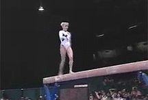 Gymnastics beam!