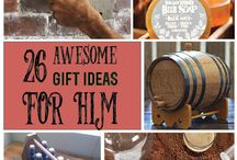 DIY & Wood Christmas Gifts for Guys / Awesome gifts for guys that are either DIY or wood related. Lots of beer in this board too!