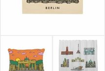 Berlin Home & Wall Art / Find Berlin souvenirs to make your home different.