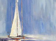 boat pastel