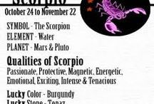 Scorpio Me / For those who were born late October - early November.